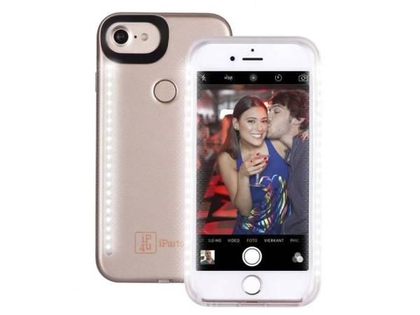 Chique Selfie Hoesje iPhone 8/7/6S/6 Goud