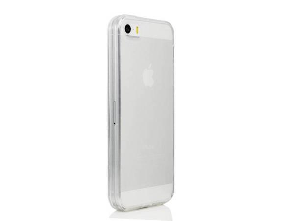 Siliconen gel iPhone 5/5S hoesje Transparant beschermt uitgangen