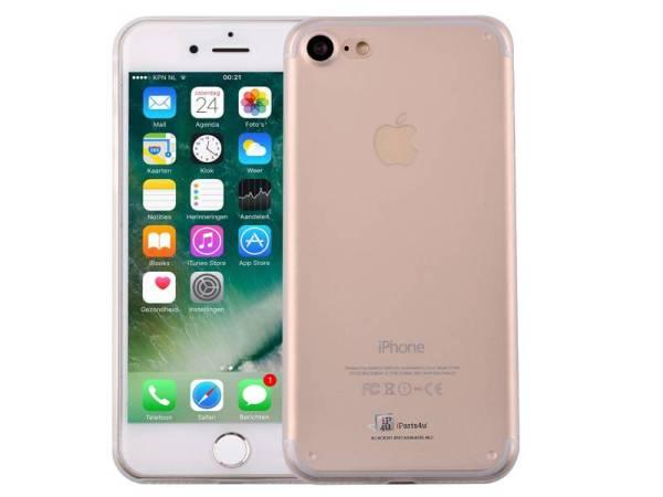 iPhone 8/7 Hardcase Ultra Dun Premium Mat Transparant