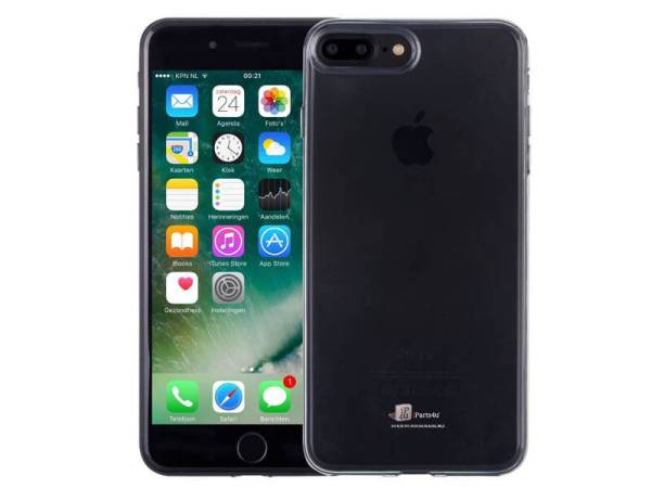 Ultradun iPhone 8/7 Plus Hoesje Siliconen Transparant