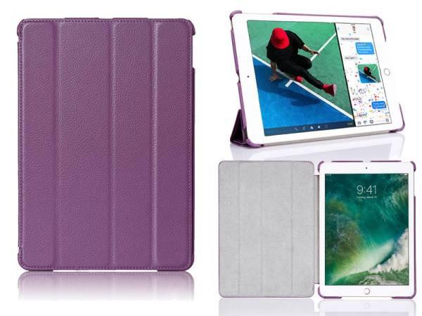 iPad Pro Hoes 10.5 inch Smart Case Kunstleder Paars