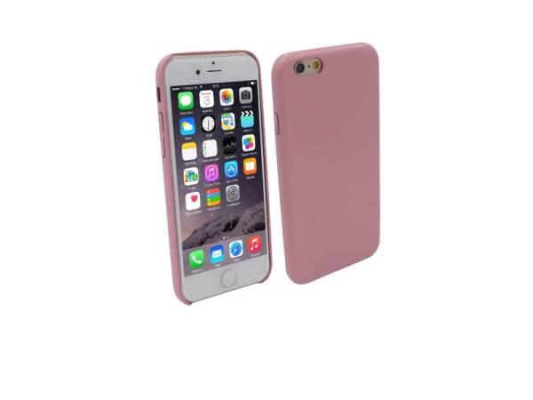 Ultra dunne Vinyl Lederen Backcover Case iPhone 6 Roze