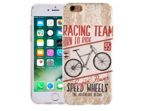 iPhone 8/7 Hoesje Vintage Look Racefiets