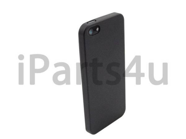 iPhone 5/5S Backcover Premium Hoesje Ultradun Zwart
