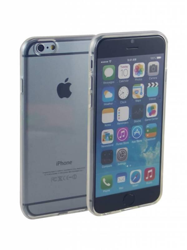 Siliconen Gel TPU iPhone 6 en 6S Hoesje Transparant