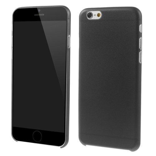 iPhone 6 Plus Ultradun premium Backcover Zwart
