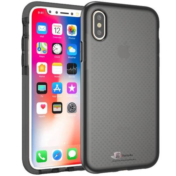 Schokbestendig iPhone X Bumper Hoesje Case Siliconen Shockproof Zwart