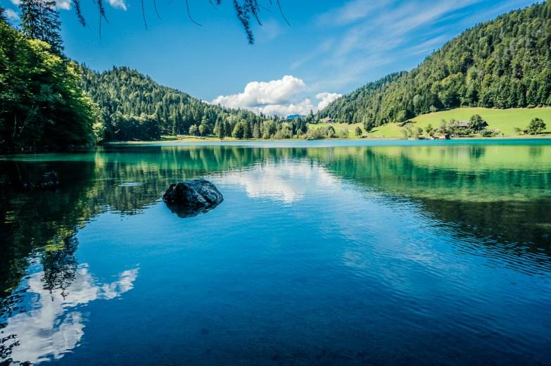 Am Hintersteiner See in Tirol