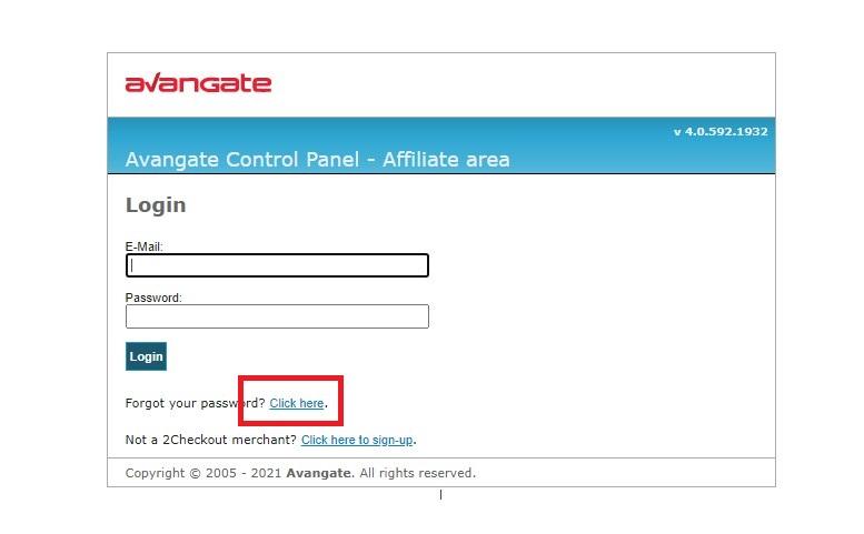 )Avangate Affiliate Network 登録方法