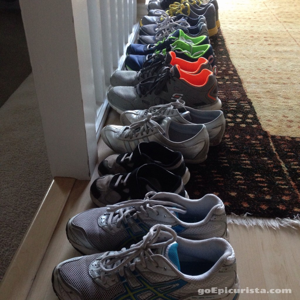 Nothing but Running Shoes Needed