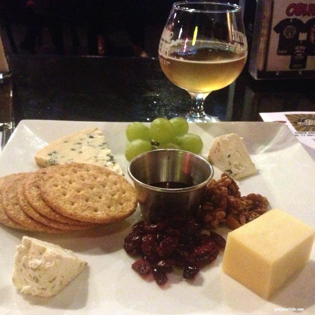Cider and Cheese Tasting Oblivion Tap Room check out review www.goepicurista.com