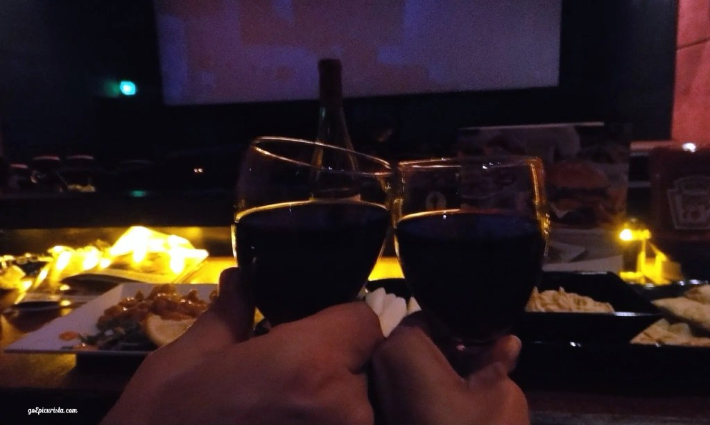 Dinner and Movie AMC Fork & Screen review www.goepicurista.com