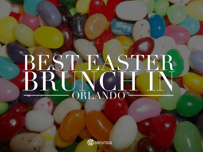 Best Easter Brunch in Orlando with www.goepicurista.com