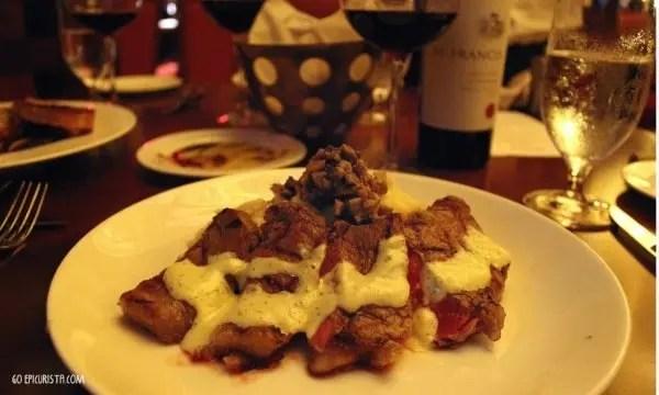 Napa Restaurant Orlando review with www.goepicurista.com, Sous Vide NY Strip