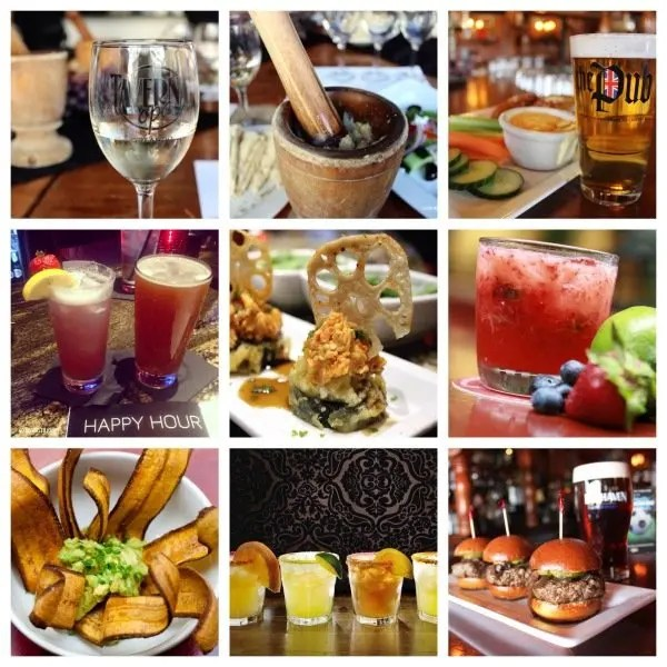 Top 9 Foodie Happy Hour in Orlando with www.goepicurista.com