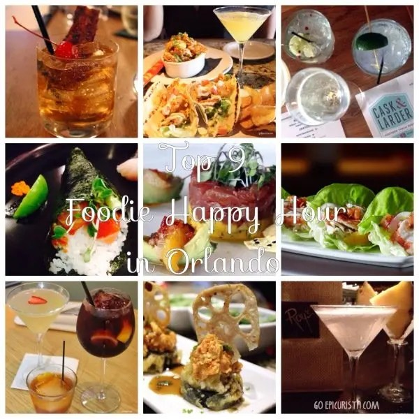Top 9 Foodie Happy Hour in Orlando
