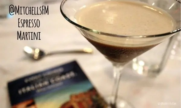 Easy Entertaining with Mitchell's Fish Market Espresso Martini with www.goepicurista.com
