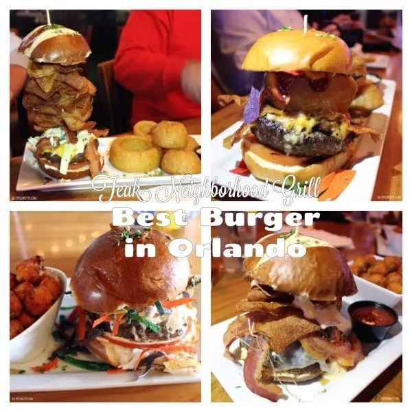 Teak Neighborhood Grill serves up the best burger in Orlando