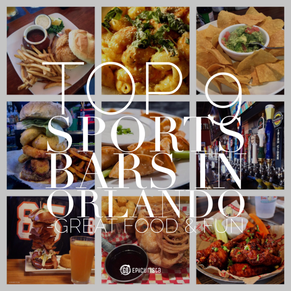Best Sports Bars in Orlando with Great Food and Fun