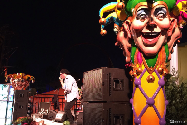Tips for Fun at Universal Orlando Mardi Gras with www.goepicurista.com