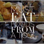 Must Eat Foods from Around the World from A to Z with www.goepicurista.com