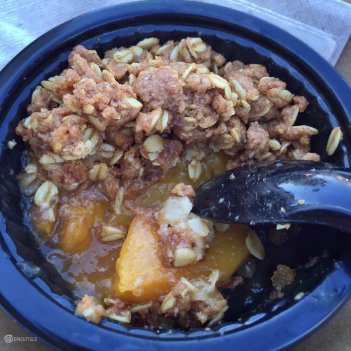 Must Eat Historic Peach Cobbler at Epcot, part of National Black History Month Celebration with GoEpicurista.com