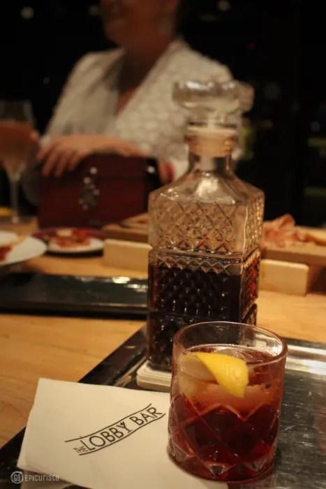 Four Seasons Orlando Vieux Carre Cocktail with GoEpicurista.com