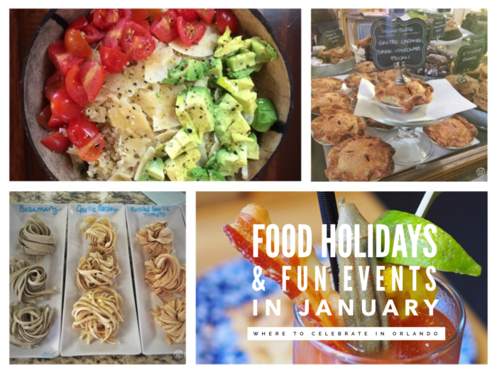Food Holidays and Fun Reasons to Celebrate in January with GoEpicurista.com