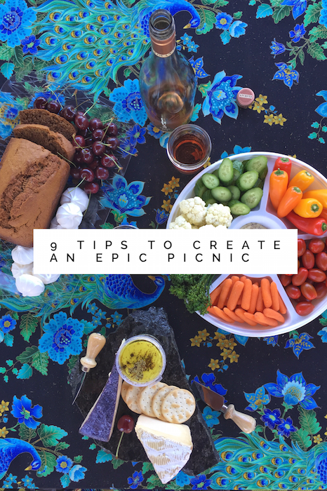 9 Tips to Create an Epic Picnic with GoEpicurista.com
