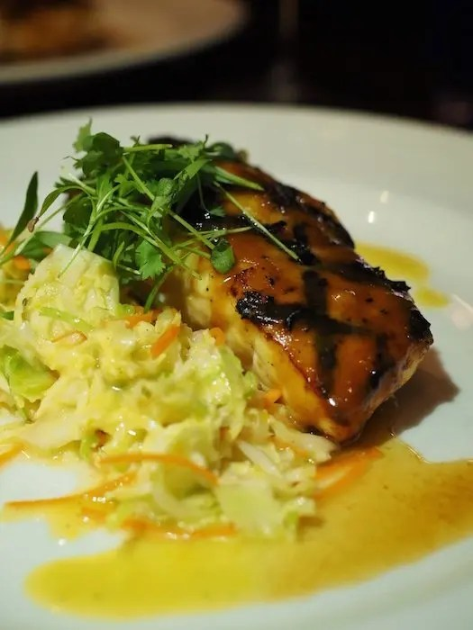 Deep Blu Seafood Grille at Wyndham Grand Orlando Resort Bonnet Creek review with photos