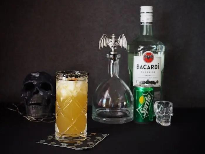 Spooky Voodoo Rum Punch