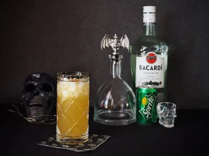 Image result for images of Spiced Rum and Sprite Cocktail