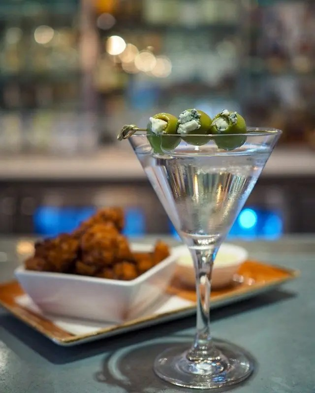 Classic martini elevated at Epicurean Hotel in Tampa includes recipe for Stoli Elit Martini and tips to craft the perfect martini