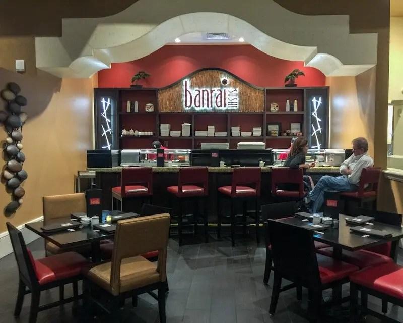 9 Reasons foodies love to stay at Rosen Shingle Creek Resort in Orlando, Banrai Sushi Bar