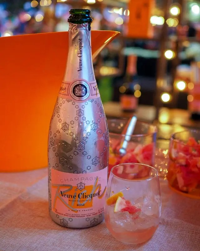 Photo recap why every Foodie Loves Cows N Cabs Event in Orlando. Including Veuve Clicquot