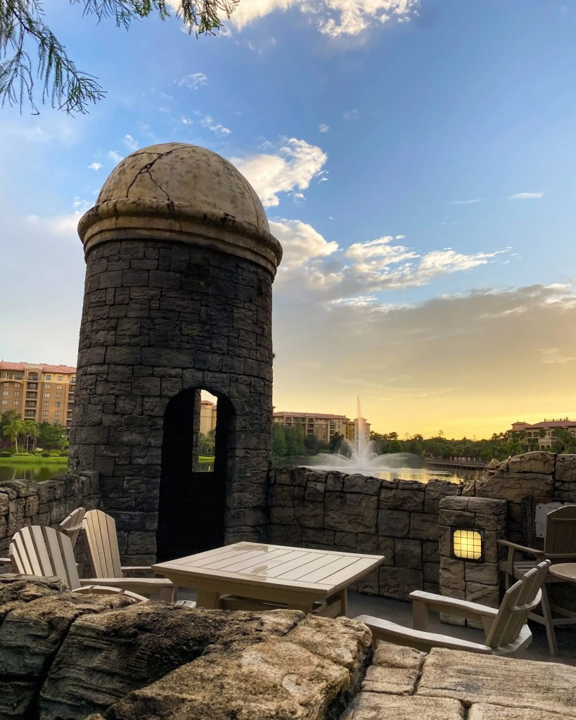 The Watch Tower. 29 Socially Distanced Fun Things To Do on Vacation at Wyndham Grand Orlando Resort Bonnet Creek