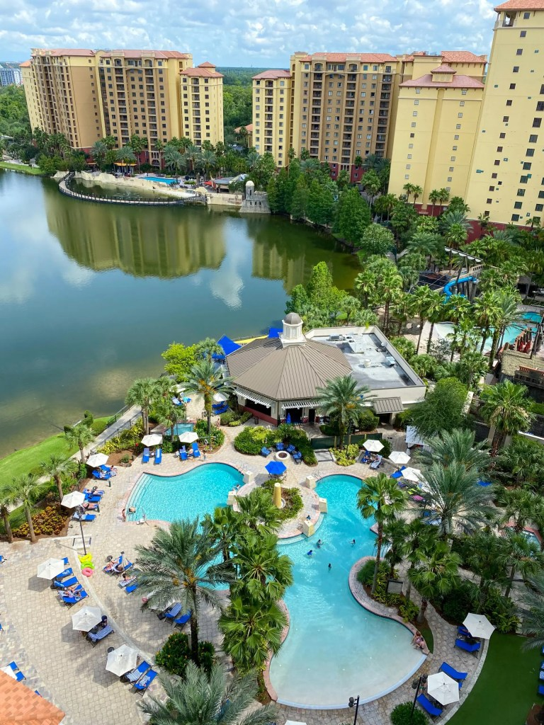 The Pool. 29 Socially Distanced Fun Things To Do on Vacation at Wyndham Grand Orlando Resort Bonnet Creek