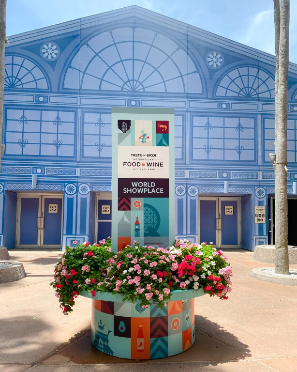 Taste of Epcot Food and Wine Festival guide world showplace