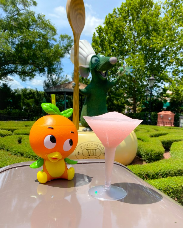 Taste of Epcot Food and Wine Festival guide Remy topiary