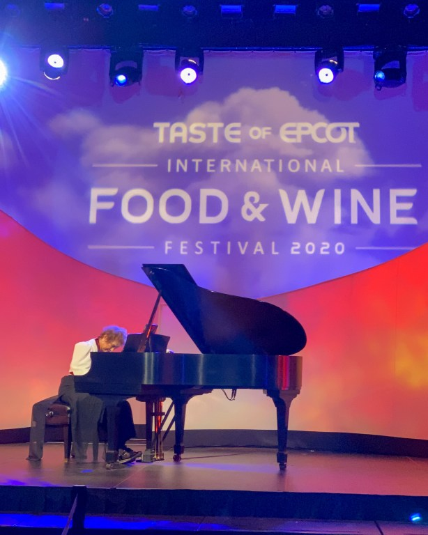 Taste of Epcot Food and Wine Festival guide entertainment