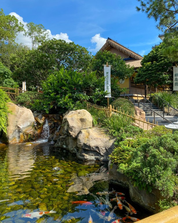 Taste of Epcot Food and Wine Festival guide Japan gardens