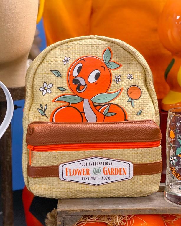 Taste of Epcot Food and Wine Festival guide Orange Bird backpack