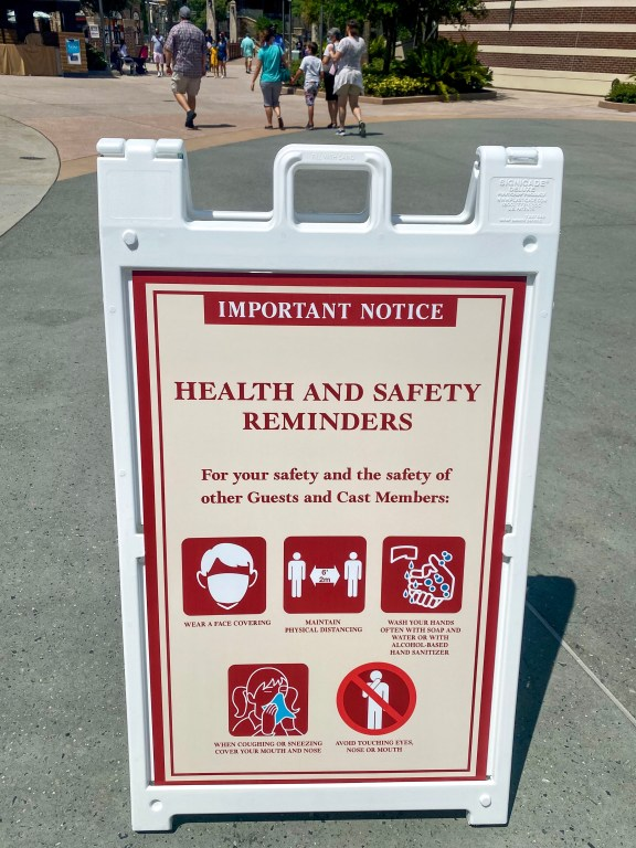 Disney Springs Covid Safety Guidelines