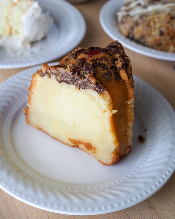 Ruby Rum Cake ships nationwide at Sister Honey's Bakery in Orlando.