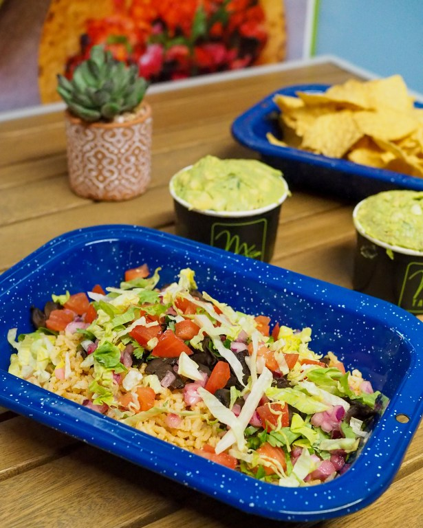 The Almond Milk District promotion features plant based and vegan options at several bars, restaurants and shops in the eclectic Orlando neighborhood. Such as MX Taco Rice Bowl