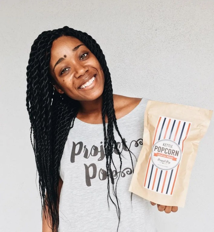 Popcorn and Inspiration with Major's Project Pop founder Chauniqua Major-Louis