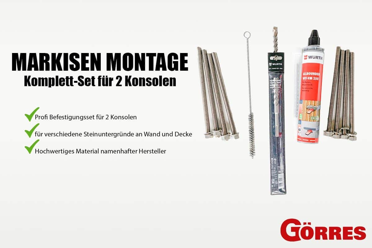 Markisen Montage-Sets