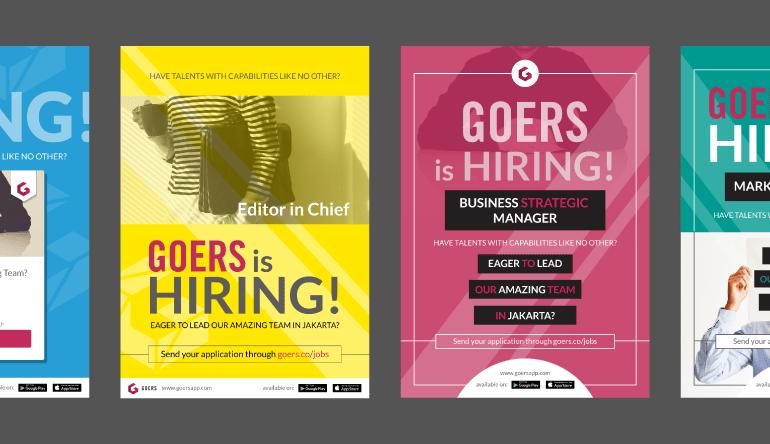 Goers is hiring!