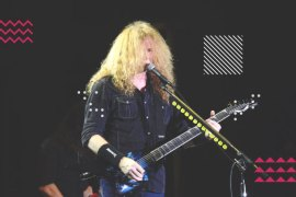 Megadeth Menutup Gelaran Hammersonic Festival 2017 dengan Sempurna