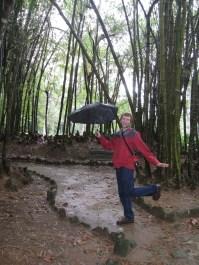 Isaiah in Botanical Gardens in Rio de Janeiro